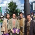 高岡開町まつりに参加しました。