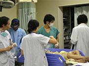 救急外来での初期治療