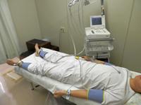 動脈硬化検査(血圧脈波検査)