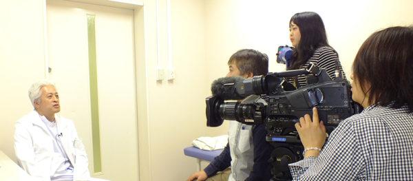乳がん 富山テレビ取材