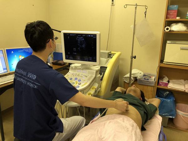 研修医の1日 放射線科 超音波検査