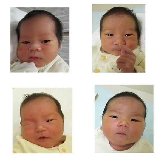 高岡市民病院 2021年6月生まれのお友達