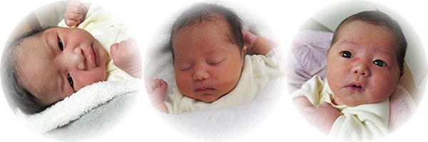 高岡市民病院で誕生した赤ちゃん