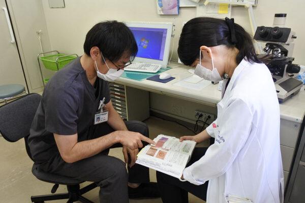 研修医の1日 皮膚科 レクチャー